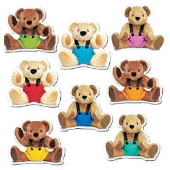 9780742416352: Teddy Bears Bulletin Board Accents