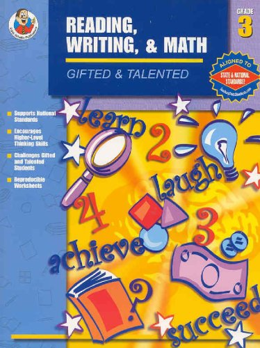 9780742417632: Gifted & Talented Reading, Writing, and Math, Grade 3