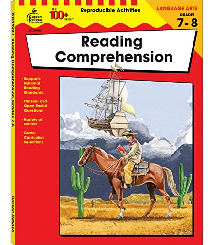 9780742417694: Reading Comprehension, Grades 7 - 8 (The 100+ Series™)