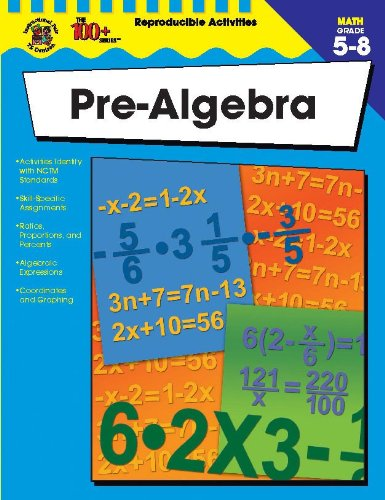 9780742417878: Pre-Algebra, Grades 5 - 8 (The 100+ Series™)