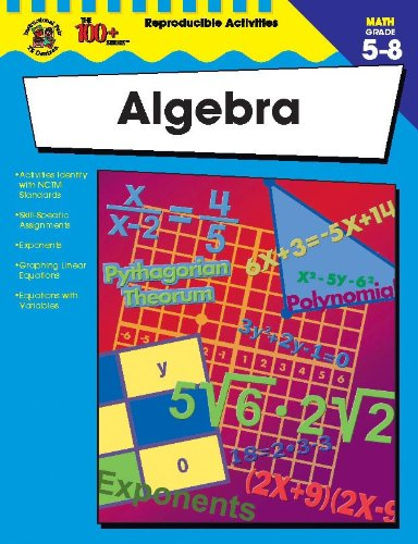 9780742417885: Algebra, Grades 5 - 8 (The 100+ Series™)