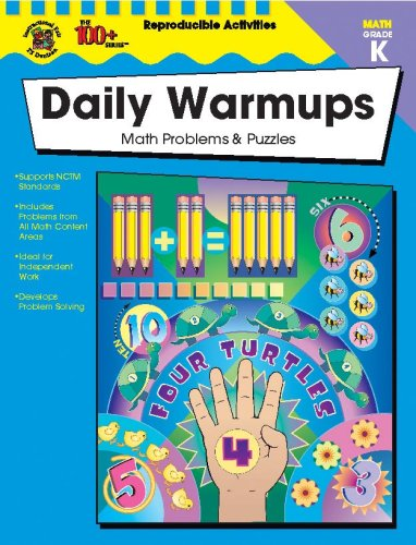 9780742417908: The 100+ Series Daily Warmups, Grade K: Math Problems & Puzzles