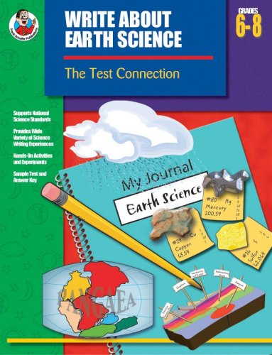 9780742419155: Write About Earth Science, Grades 6 - 8: The Test Connection (Write about Science)