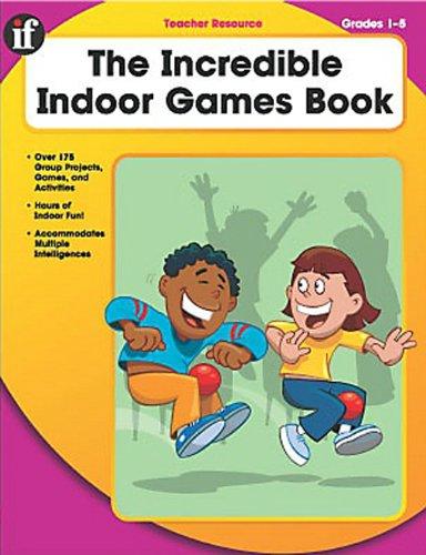 9780742419407: The Incredible Indoor Games Book, Grades 1-5