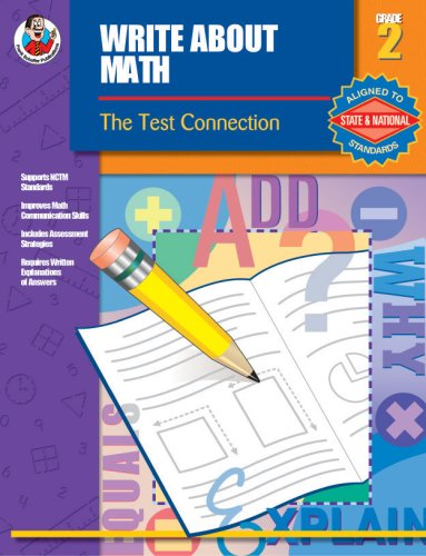 9780742419629: Write About Math, Grade 2: The Test Connection