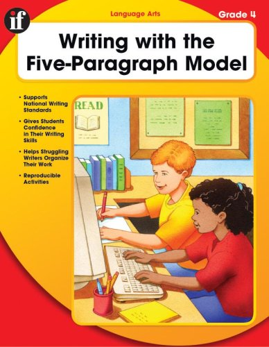 9780742427747: Writing with the Five-Paragraph Model, Grade 4