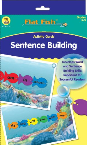 9780742431393: Sentence Building Flat Fish (TM) Activity Cards