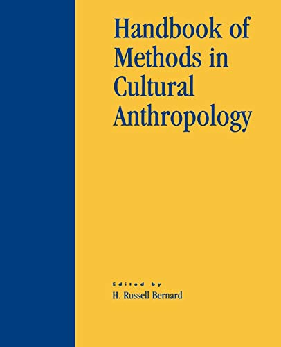 9780742504325: Handbook of Methods in Cultural Anthropology