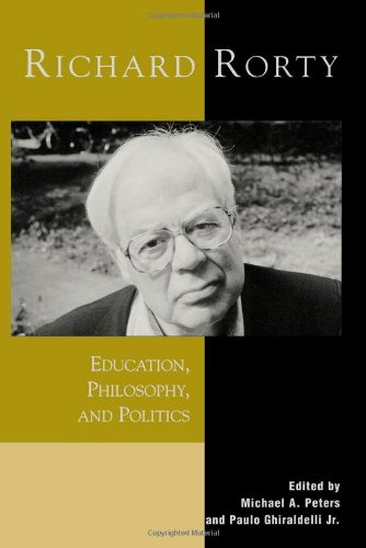 9780742509054: Richard Rorty: Education, Philosophy and Politics