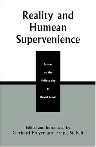 9780742512009: Reality and Humean Supervenience: Essays on the Philosophy of David Lewis (Studies in Epistemology and Cognitive Theory)