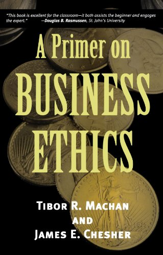 9780742513891: A Primer on Business Ethics