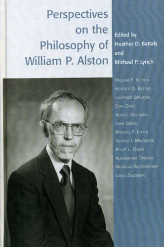 9780742514249: Perspectives on the Philosophy of William P. Alston (Studies in Epistemology and Cognitive Theory)