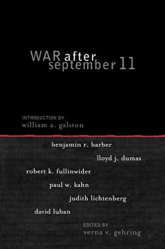 War after September 11 (Institute for Philosophy and Public Policy Studies)