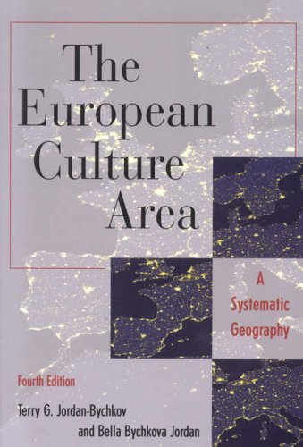 9780742516281: The European Culture Area: A Systematic Geography
