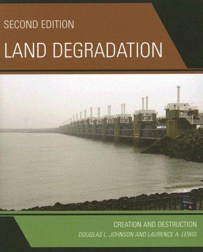 Land Degradation: Creation and Destruction: Johnson, Douglas L.; Lewis, Laurence A.