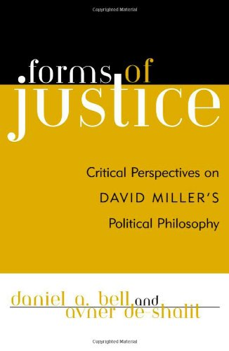 9780742521797: Forms of Justice: Critical Perspectives on David Miller's Political Philosophy