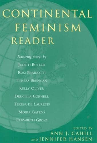 9780742523081: Continental Feminism Reader