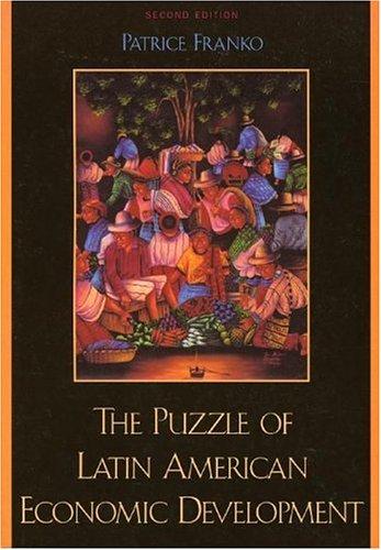 9780742524668: The Puzzle of Latin American Economic Development