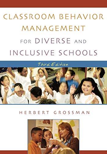9780742526556: Classroom Behavior Management for Diverse and Inclusive Schools