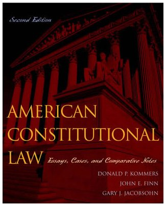 9780742526884: American Constitutional Law: Governmental Powers and Democracy (Volume 1)