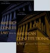 9780742526938: American Constitutional Law: Liberty, Community, and the Bill of Rights (Volume 2)