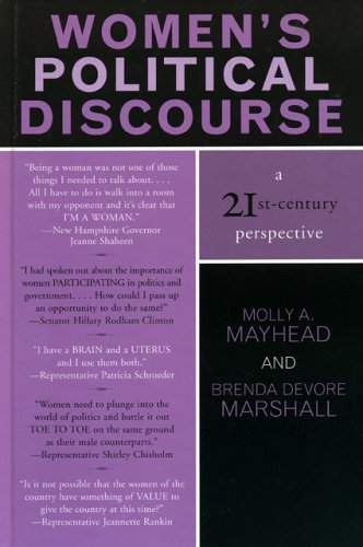 9780742529083: Women's Political Discourse: A 21st-Century Perspective