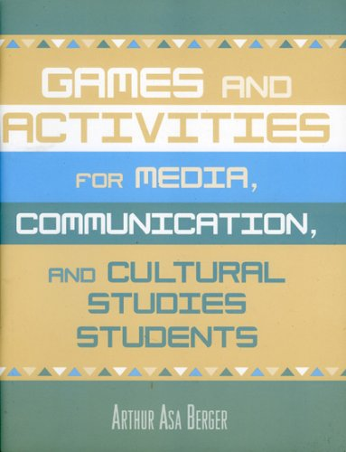 9780742530447: Games and Activities for Media, Communication, and Cultural Studies Students