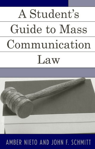 9780742538412: A Student's Guide to Mass Communication Law