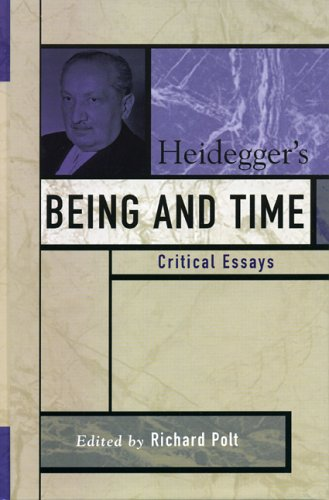 9780742542402: Heidegger's Being And Time: Critical Essays