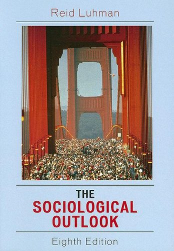 9780742543317: The Sociological Outlook: A Text with Readings