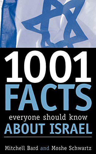 9780742543577: 1001 Facts Everyone Should Know about Israel
