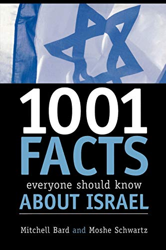 9780742543584: 1001 Facts Everyone Should Know about Israel