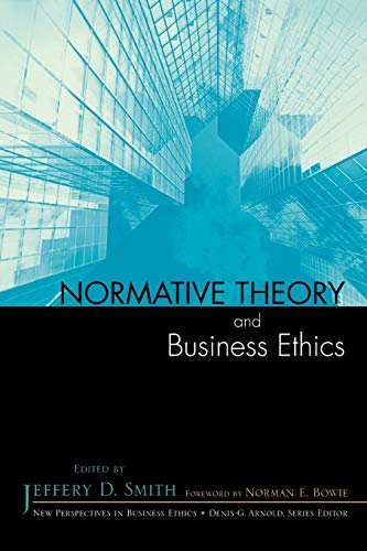 9780742548411: Normative Theory and Business Ethics (New Perspectives in Business Ethics)