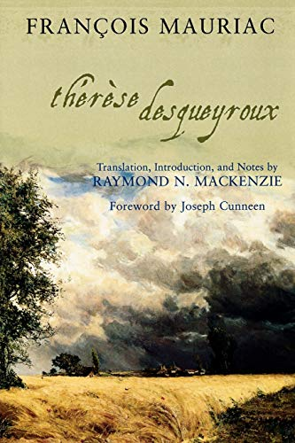 9780742548657: Therese Desqueyroux (Sheed & Ward Book)