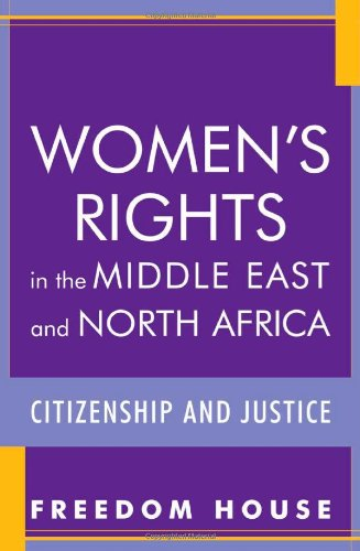 9780742549913: Women's Rights in the Middle East and North Africa: Citizenship and Justice