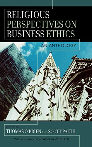 9780742550100: Religious Perspectives on Business Ethics: An Anthology (Religion and Business Ethics)
