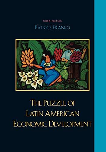 9780742553538: The Puzzle of Latin American Economic Development