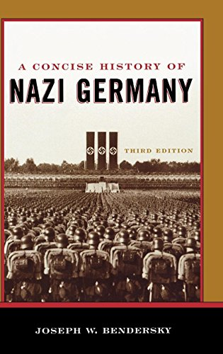 9780742553620: A Concise History of Nazi Germany