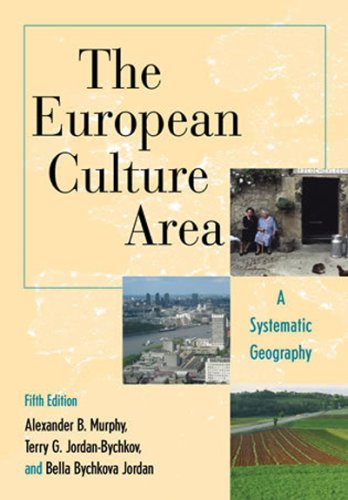 9780742556720: The European Culture Area: A Systematic Geography (Changing Regions in a Global Context: New Perspectives in Regional Geography Series)