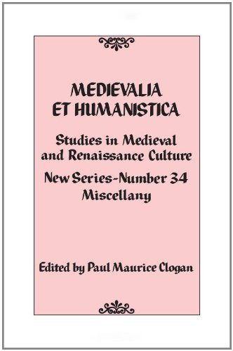 9780742564879: Medievalia et Humanistica, No. 34: Studies in Medieval and Renaissance Culture (Medievalia et Humanistica Series)