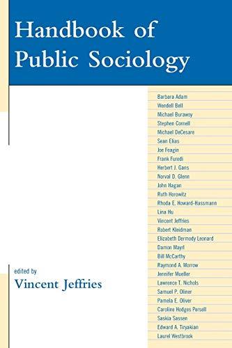 9780742566477: Handbook of Public Sociology