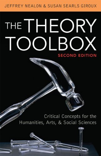 9780742570498: The Theory Toolbox: Critical Concepts for the Humanities, Arts, & Social Sciences (Culture and Politics Series)