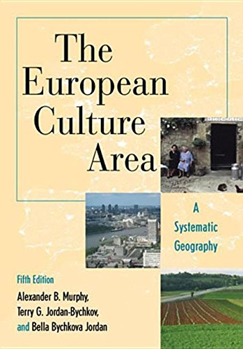 9780742579064: The European Culture Area: A Systematic Geography