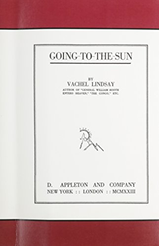 9780742656956: Going-to-the Sun (Paperbound)