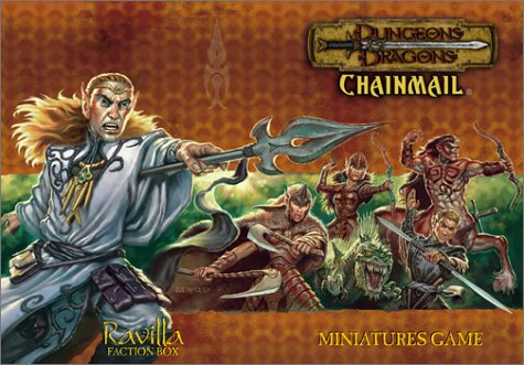 9780743004473: Dungeons & Dragons Chainmail: Ravilla Faction Box : Miniatures Game