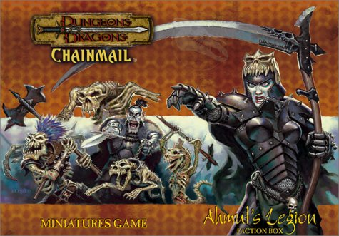 9780743004480: Dungeons & Dragons Chainmail: Miniatures Game : Ahmut's Legion : Faction Box