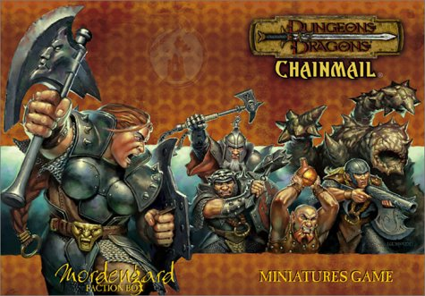 9780743004503: Dungeons & Dragons Chainmail: Mordengard Faction Box : Miniature Game