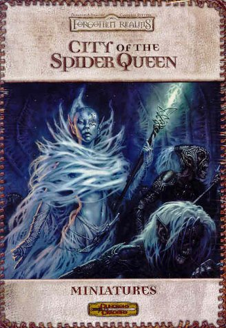 9780743005111: City of the Spider Queen: Miniatures (Dungeons & Dragons: Forgotten Realms, Campaign Accessory)