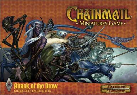 9780743005937: Attack of the Drow: Set 4 Kilsek Faction Box (Chainmail Miniatures Game)