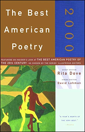 Stock image for The Best American Poetry 2000 for sale by Your Online Bookstore